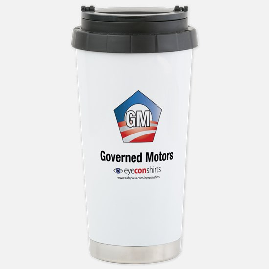 Governed Motors Stainless Steel Travel Mug