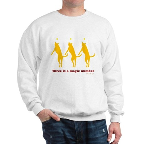Magic Number 3 Sweatshirt