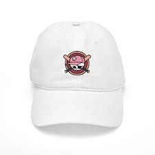 Baseball Pirate -Girl Baseball Cap