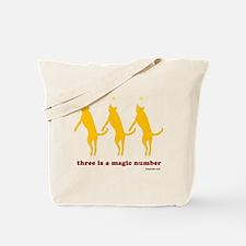 Magic Number 3 Tote Bag