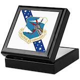 Strategic air command Square Keepsake Boxes