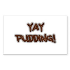 Yay Pudding! Decal