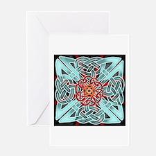 Knots & Templars Greeting Card