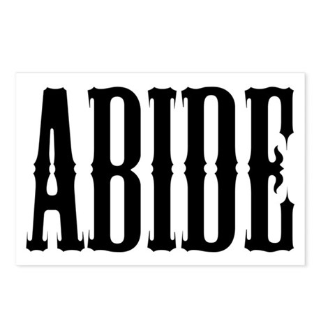 Abide Postcards (Package of 8)