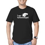 I am turbocharged Men's Fitted T-Shirt (dark)