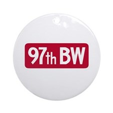 97th Bomb Wing Ornament (Round)