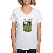 A Man A Club A Mission Shirt