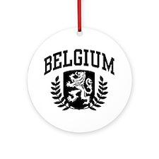 Belgium Ornament (Round)