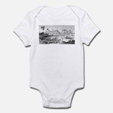 Old Waikiki Infant Bodysuit