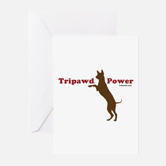 Tripawd Power Greeting Cards (Pk of 10)