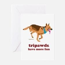 Tripawds Have More Fun Greeting Cards (Pk of 10)