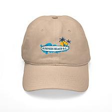 Surfside Beach - Surf Design. Baseball Cap