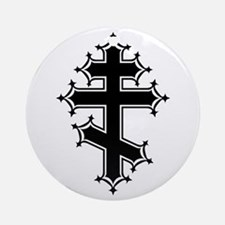 Fancy Orthodox Ornament (Round)