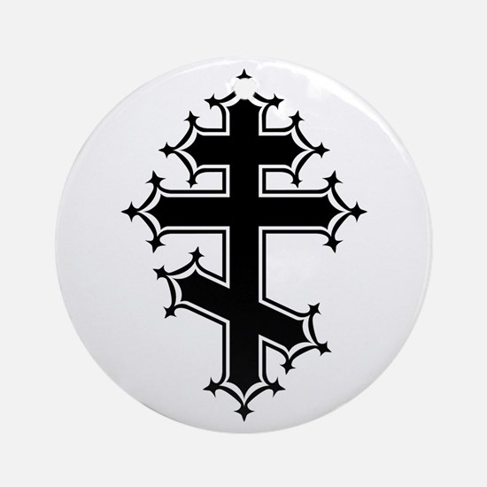 Fancy Orthodox Ornament (Round)
