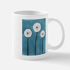 Cute Aqua dandelion Mug