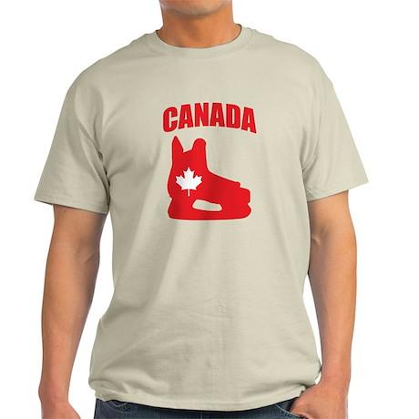 Canada Hockey Skate Light T-Shirt