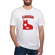 Canada Hockey Skate Shirt