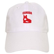 Canada Hockey Skate Baseball Cap