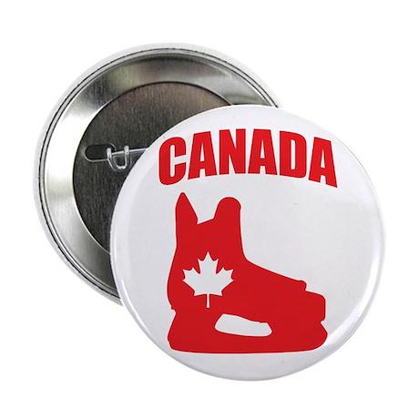 "Canada Hockey Skate 2.25"" Button (100 pack)"