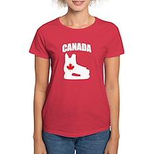 Canada Hockey Skate Tee