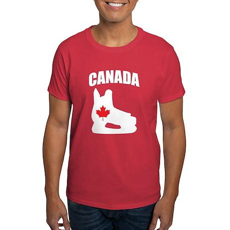Canada Hockey Skate Dark T-Shirt