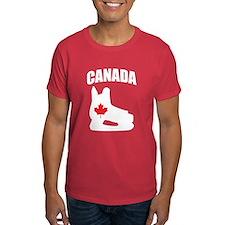 Canada Hockey Skate T-Shirt