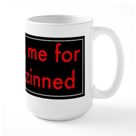 Forgive Me For I Have Zinned Large Mug