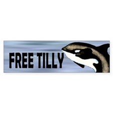 Free Tilly Car Sticker