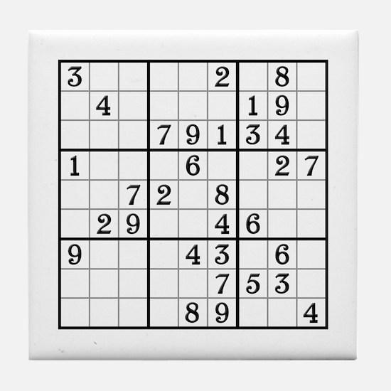 Sudoku Drinks Coaster