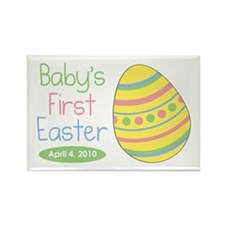 First Easter Rectangle Magnet