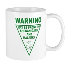Warning Shenanigans and Malar Small Mug