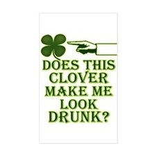 Does this clover make me look Decal