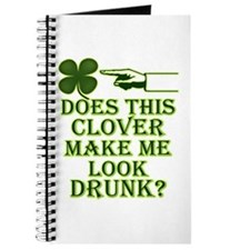 Does this clover make me look Journal