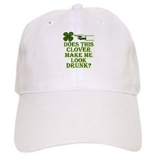Does this clover make me look Baseball Baseball Cap
