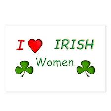 Love Irish Women Postcards (Package of 8)