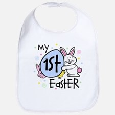 Bunny Chickie 1st Easter Bib