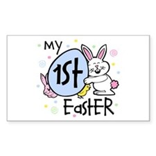 Bunny Chickie 1st Easter Decal