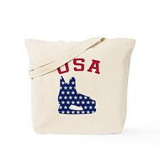 USA Hockey Skate Tote Bag