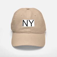 NY - NEW YORK Baseball Baseball Cap