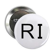 """RI - RHODE ISLAND 2.25"""" Button"""