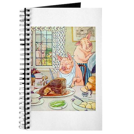 Roast Beef Piggy Journal