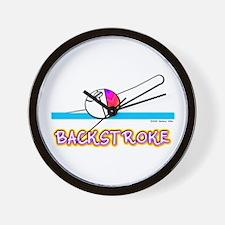 Backstroke Wall Clock