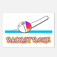 Backstroke Postcards (Package of 8)