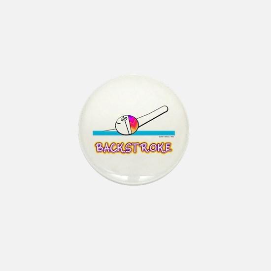 Backstroke Mini Button