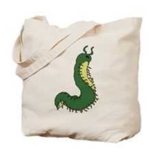 Funny Caterpillar Tote Bag