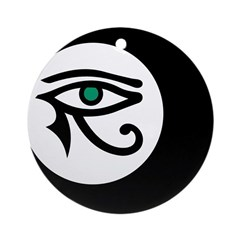 LunaSees Logo Ornament (Round)