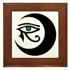 LunaSees Logo Framed Tile