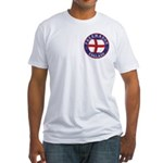 English Free Masons Fitted T-Shirt
