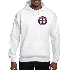 English Free Masons Hoodie