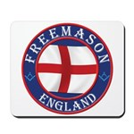 English Free Masons Mousepad